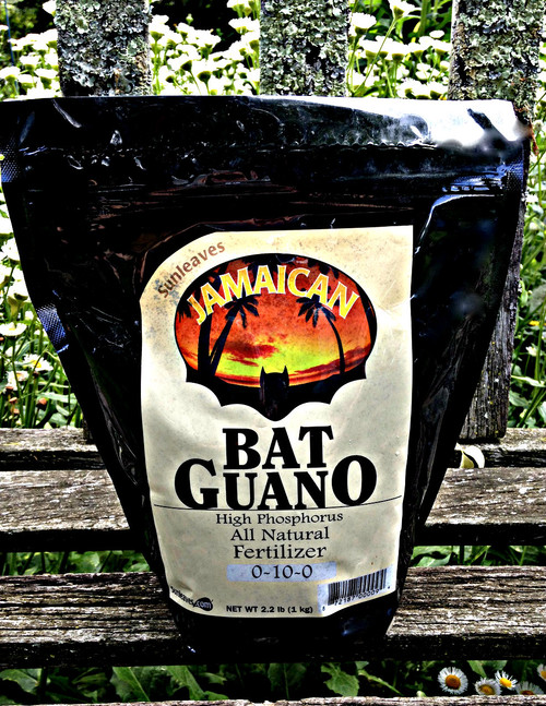 High Phosphorus Bat Guano from Jamaica Man! Good for your roots, flowers & fruits.