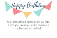 Birthday Message A