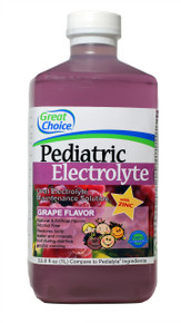 Great Choice Pediatric Electrolye - NBE to Pedialyte 8 PACK - 4 Flavors