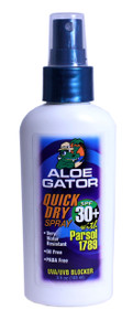 Aloe Gator SPF 30+ Quick Dry Pump Spray