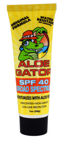 Aloe Gator SPF 40 Lotion 1 oz.