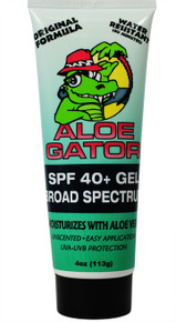 Aloe Gator SPF 40+ Gel 4 oz.