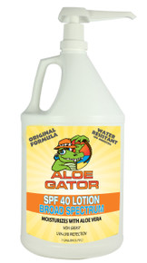 Aloe Gator 1 Gallon SPF 40 Lotion