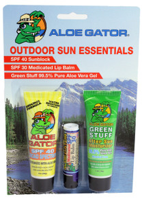 Aloe Gator Outdoor Combo Pack