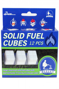 Bleuet Large Solid Fuel Cubes 12 ct