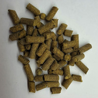 Barley Pellets are an excellent shrimp food that won't deteriorate your water.