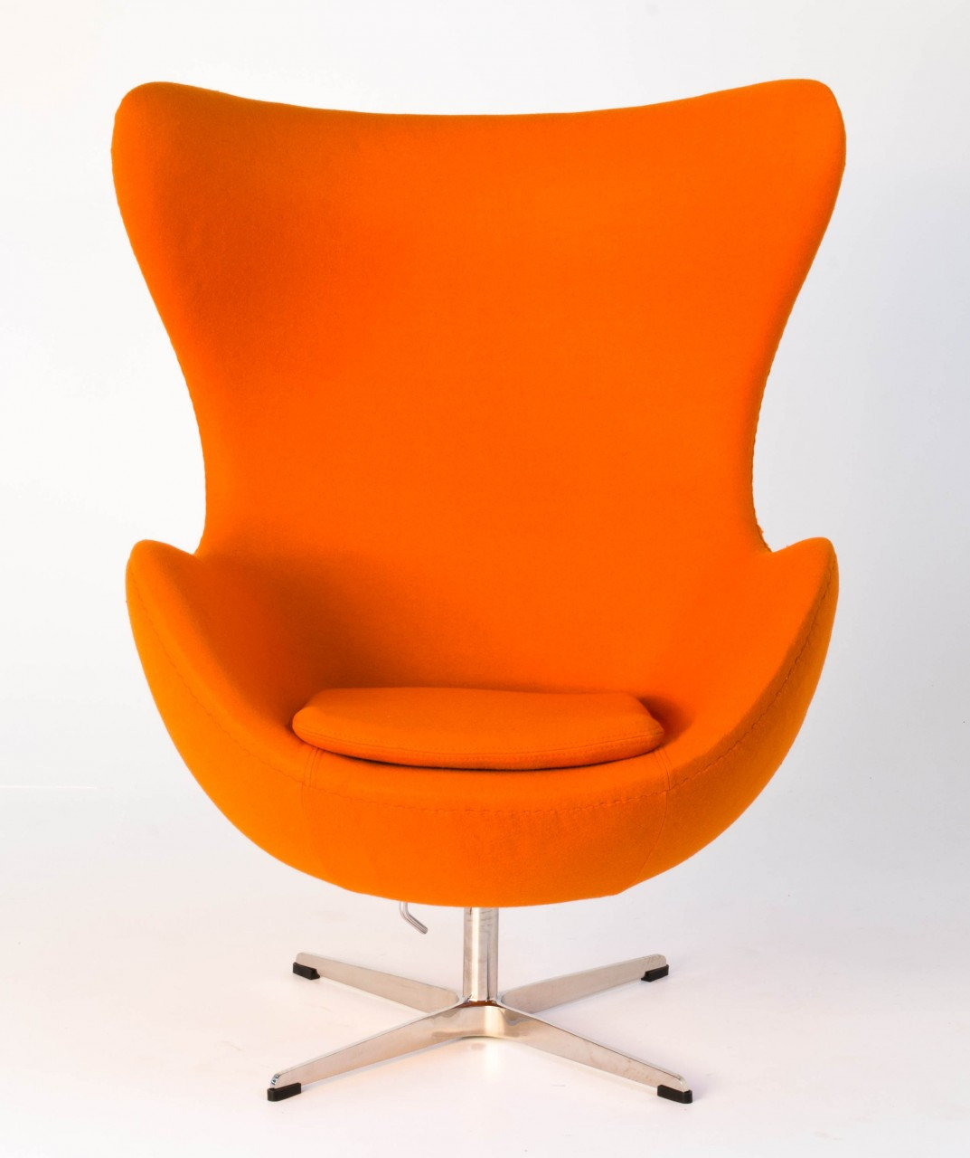 Replica egg chair orange replica arne jacobsen egg chair for Egg chair replica schweiz