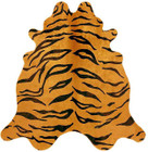 Exquisite Natural Cow Hide Tiger Print (ux)