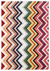 Loti Modern Multi Coloured Rug (ux)