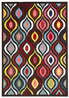 Lorenzo Modern Multi Coloured Rug (ux)