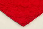 Texture Shag Rug Red + Round (ux)