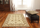 Classic Rug Ivory with Ivory Border (ux)