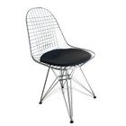 Replica Ray & Charles Eames Eiffel Wire Chair - Chrome - various color seat cushion only