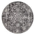 Scape Charcoal Transitional Rug (ux)