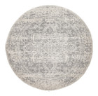 Dream White Silver Transitional Rug (ux)