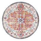Carnival White Transitional Rug (ux)