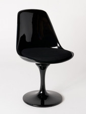 Tulip Chair Replica replica tulip chair - black fibreglass | tulip chair | replica