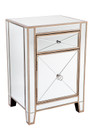Apolo Bedside Table - Antique Gold (cl)