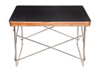 Replica Eames Wire Table-black top