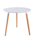 Replica Mario Cellini Halo Dining Table- 3 legs round-80cm