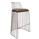 Replica Wire Barstool - Stainless Steel Frame