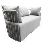 Replica Wire Sofa - Stainless Steel Frame