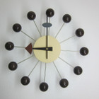 Replica George Nelson Ball Clock - walnut