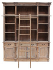 Estate Bookcase  with Ladder (hf)