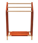 Teak & Stainless Steel Towel Rack (hf)