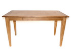 American Oak Timber Dining Table with square oak legs