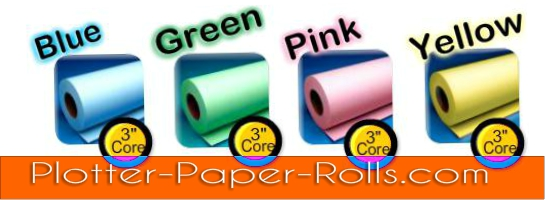buy colored plotter paper