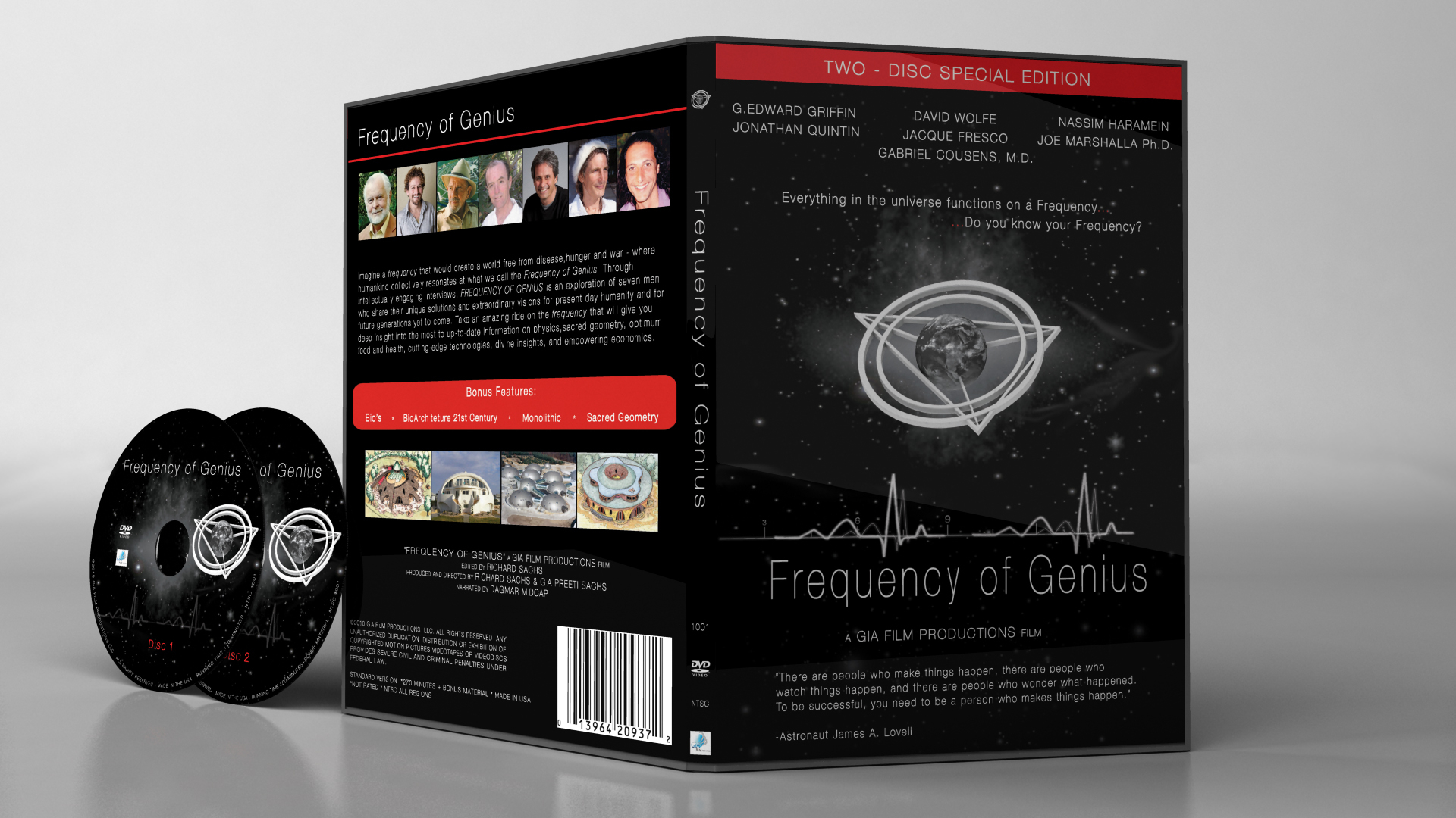 Frequency of Genius DVD - ON SALE!