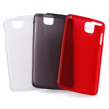 F-07D Soft Cover + Screen protector set
