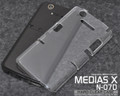 N-07D Hard Clear Cover Case