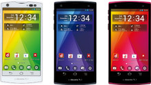 Docomo Fujitsu F-04E Arrows V Nvidia Tegra 3 Quad Core Phone