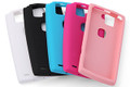 F-02E Silicone Cover + Screen protector set