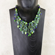 Glass Reef Necklace