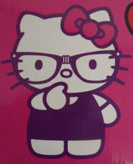 HELLO KITTY THINKING NERD - R