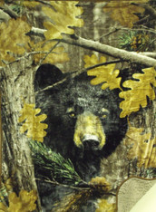 HUNTSMAN BEAR CAMO (SHERPA) 50X70
