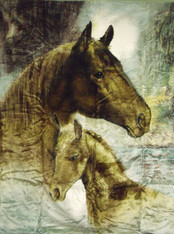 HORSE  , 2 PLY , DOUBLE SIDED HEAVY WEIGHT - R