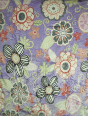 LILAC FLOWER , 2 PLY , DOUBLE SIDED HEAVY WEIGHT - R