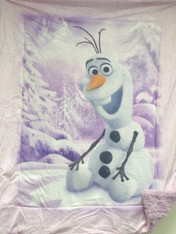 FROZEN OLAF PINK  BORREGO - R