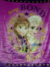 FROZEN STRONG BOND BABY BLANKET  - R