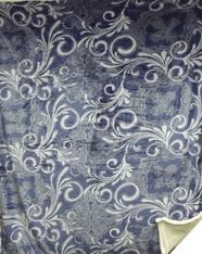 ATJ SHERPA FS 36  (BLUE SWIRL FLORAL) - R