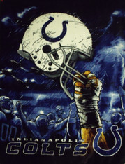 INDIANAPOLIS COLTS HELMET - R