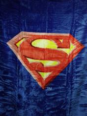 SUPERMAN SHIELD QUEEN SIZE - R
