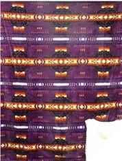 ATJ SOUTHWEST PURPLE SHERPA (60x80)    - R