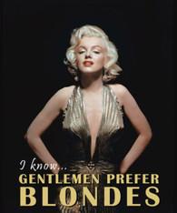 MARILYN MONROE GENTLEMEN PREFER BLONDES GOLD DRESS  -R