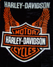 QUEEN HARLEY ORANGE WINGS -R