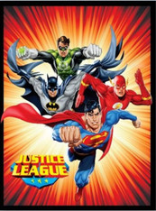 JUSTICE LEAGUE RED   - R
